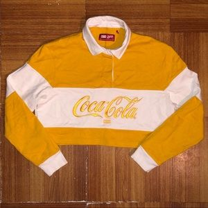 Women's Kith x CocaCola cropped shirt